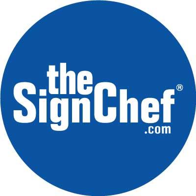 TheSignChef.com circle logo