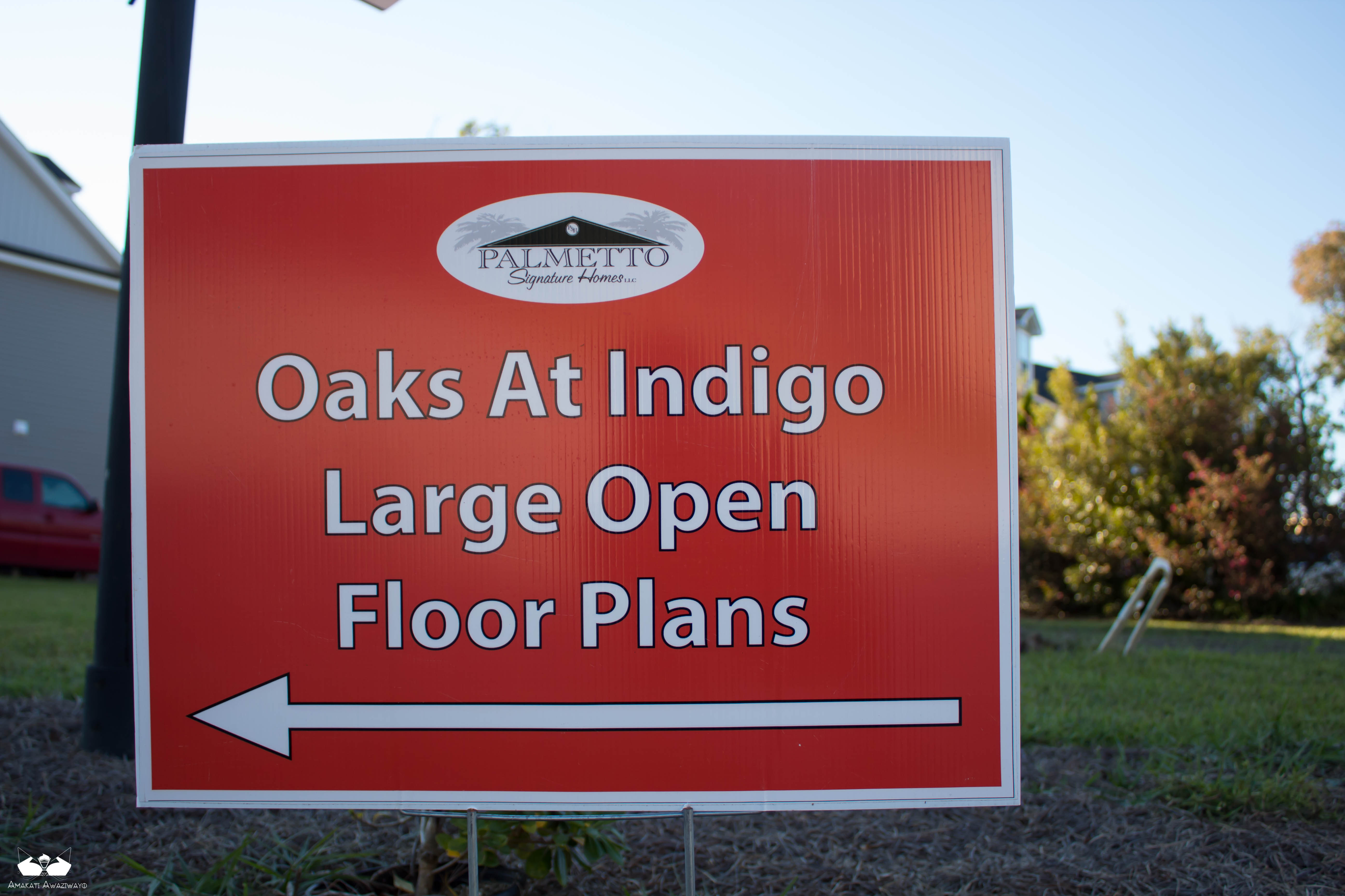 Directional Signs to Promote Features of Real Estate