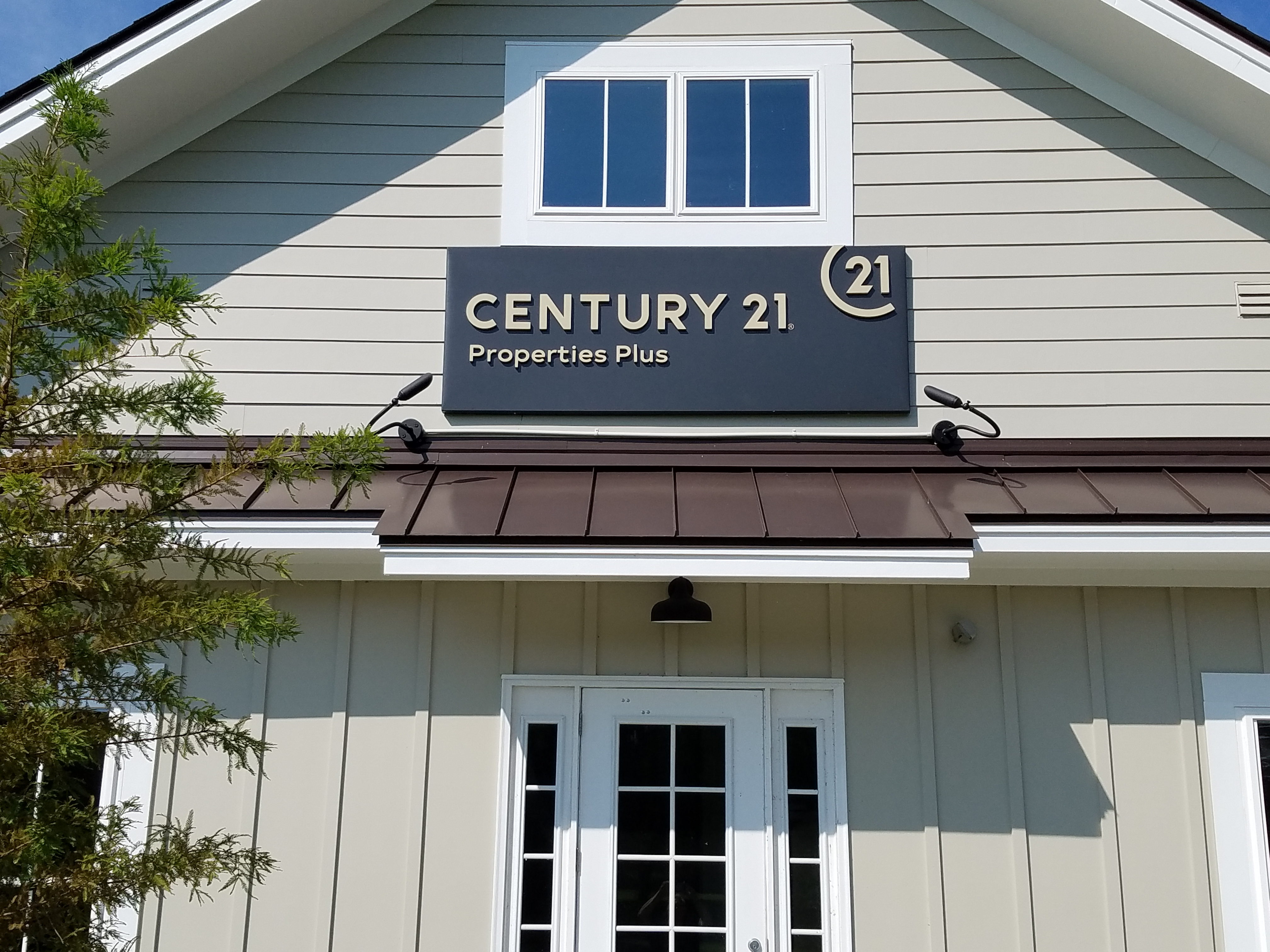 Main Office Building Sign for Century 21 Properties Plus