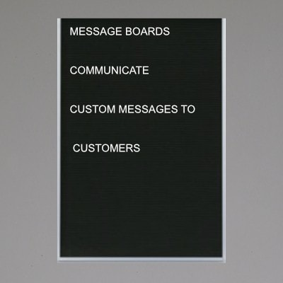 Changeable Message Boards
