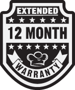 TheSignChef's Extended Twelve Month Warranty on Custom Business Signs.