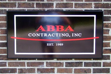 ABBA Contracting Alumalite Signage for Wall Use
