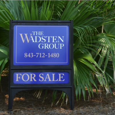 Wadsten Group Framed Metal Real Estate Sign