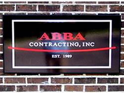 ABBA Alumalite Sign