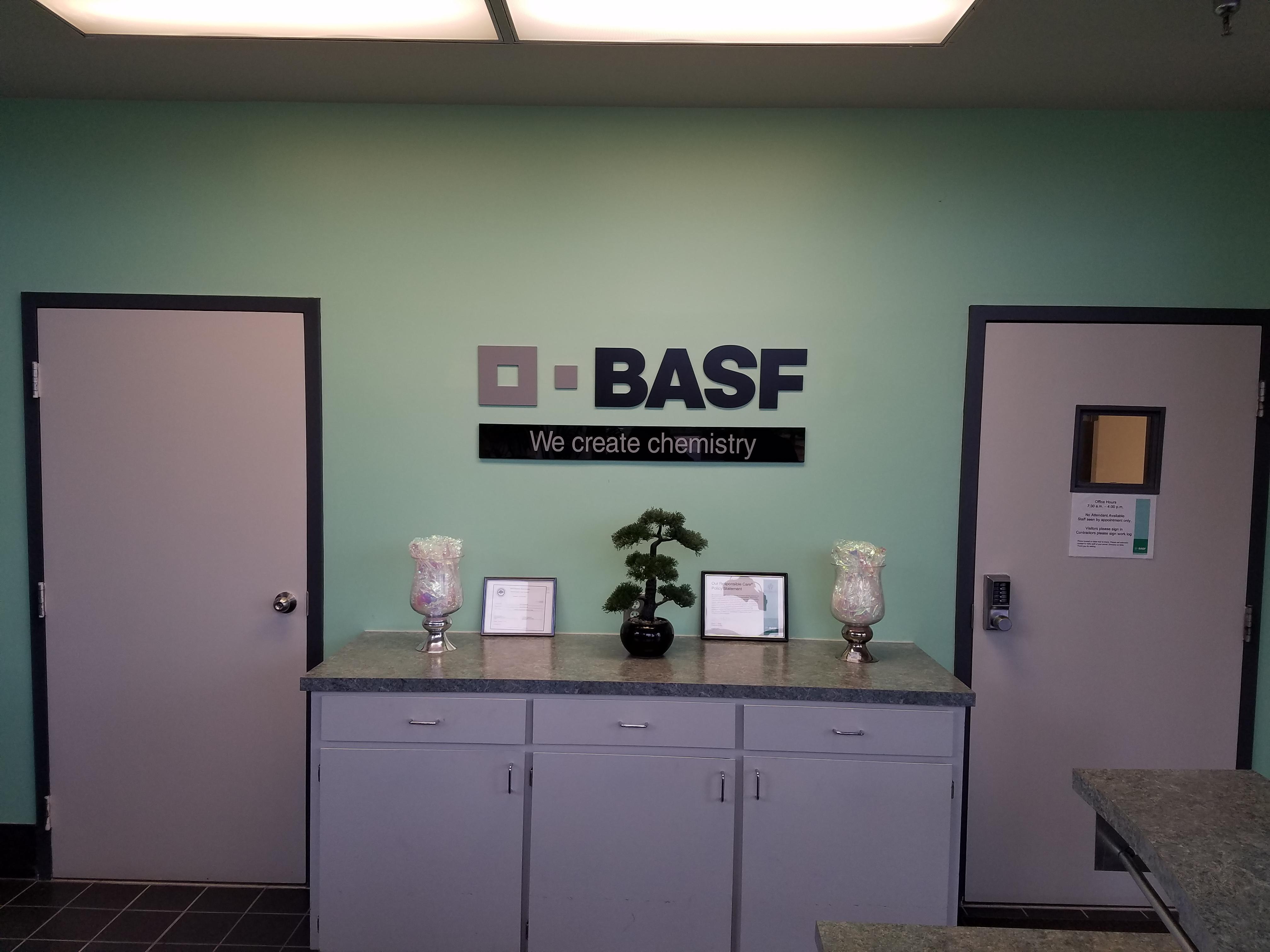 basf acrylic plastic letters