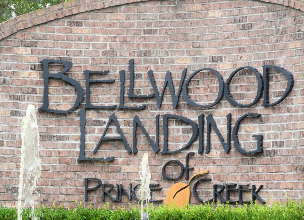 Bellwood Landing Residential 3D Letters for Residential Sign