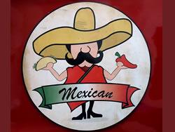 Restaurant Logo Sign Dibond Material