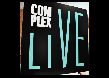 Large Dura-Wood Business Sign for Complex Live with Printed Advertisement