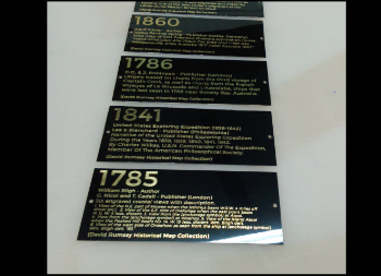 Metal Signs Laser Engraved for Wall Use