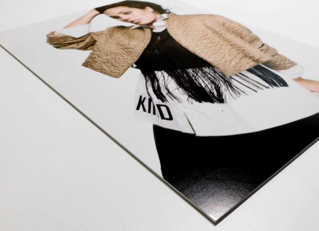 Foam Core Ultra Indoor Wall Sign with photo of fashion model