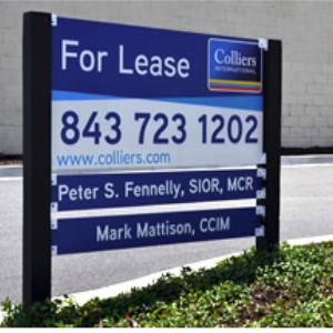 Custom Commerical Real Estate Sign