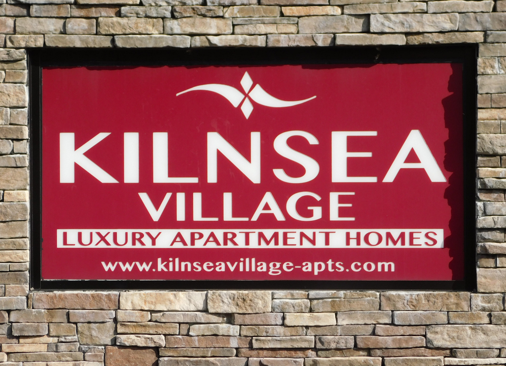 Kilnsea Metal Monument Sign for Outdoor Sign Use