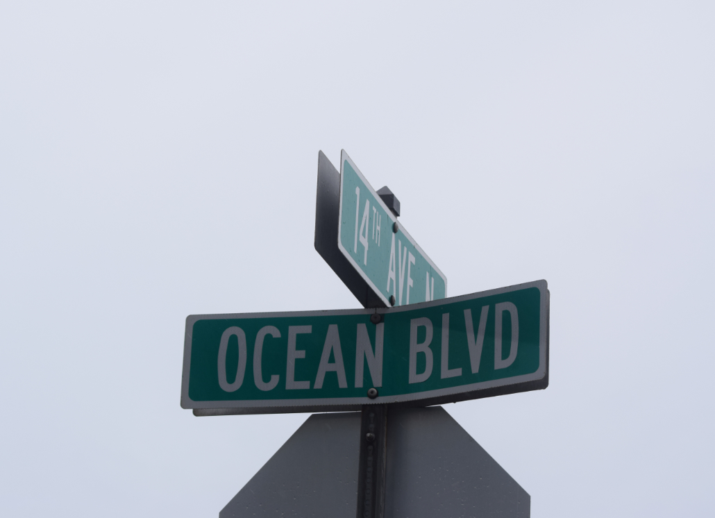 Standard Street Sign for Street Names