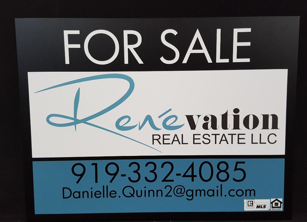 Custom Aluminum Metal Real Estate Signs