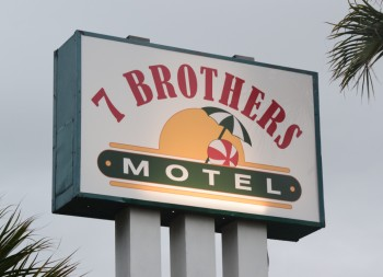 Replacement Sign Face for Hotel Business Advertisement