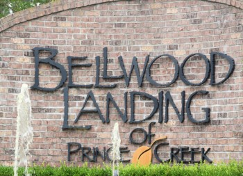 Bellwood Landing Residential 3D Letters for Residential Sign