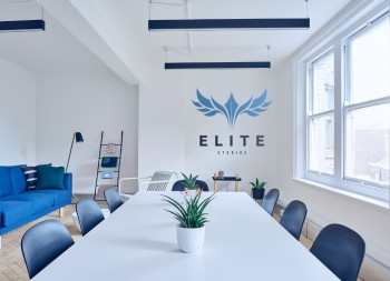 Elite Graphical Design for Corporate Office Wall
