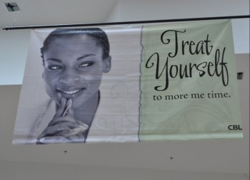 Vinyl Hanging Indoor Banner with Photo Design
