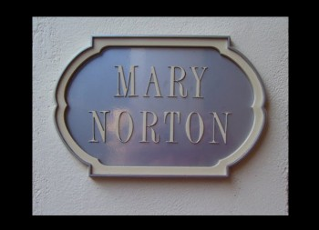 Dimensional Residential Sign Custom Made for Mary Norton