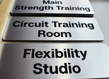 Dibond Signs for Wall and Door Mounting