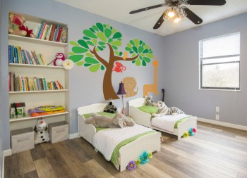 Full Color Vinyl Wall Graphic for Children's Room Decoration