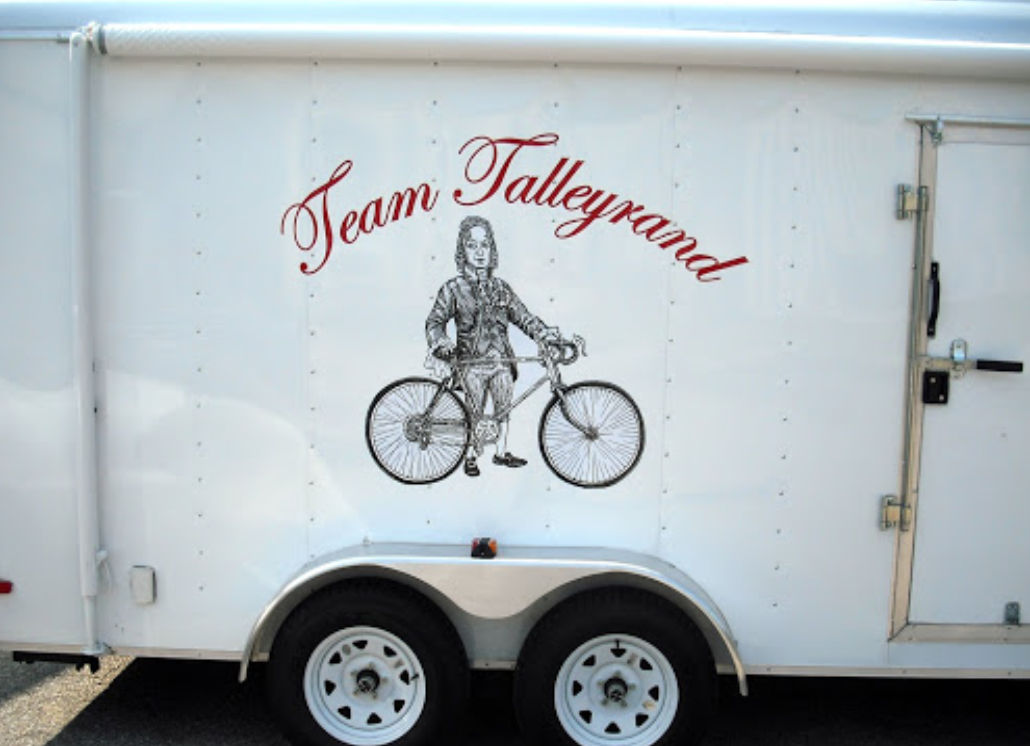 Talleyrand Team Vinyl Trailer Promotion