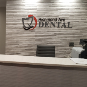 dental office review sign