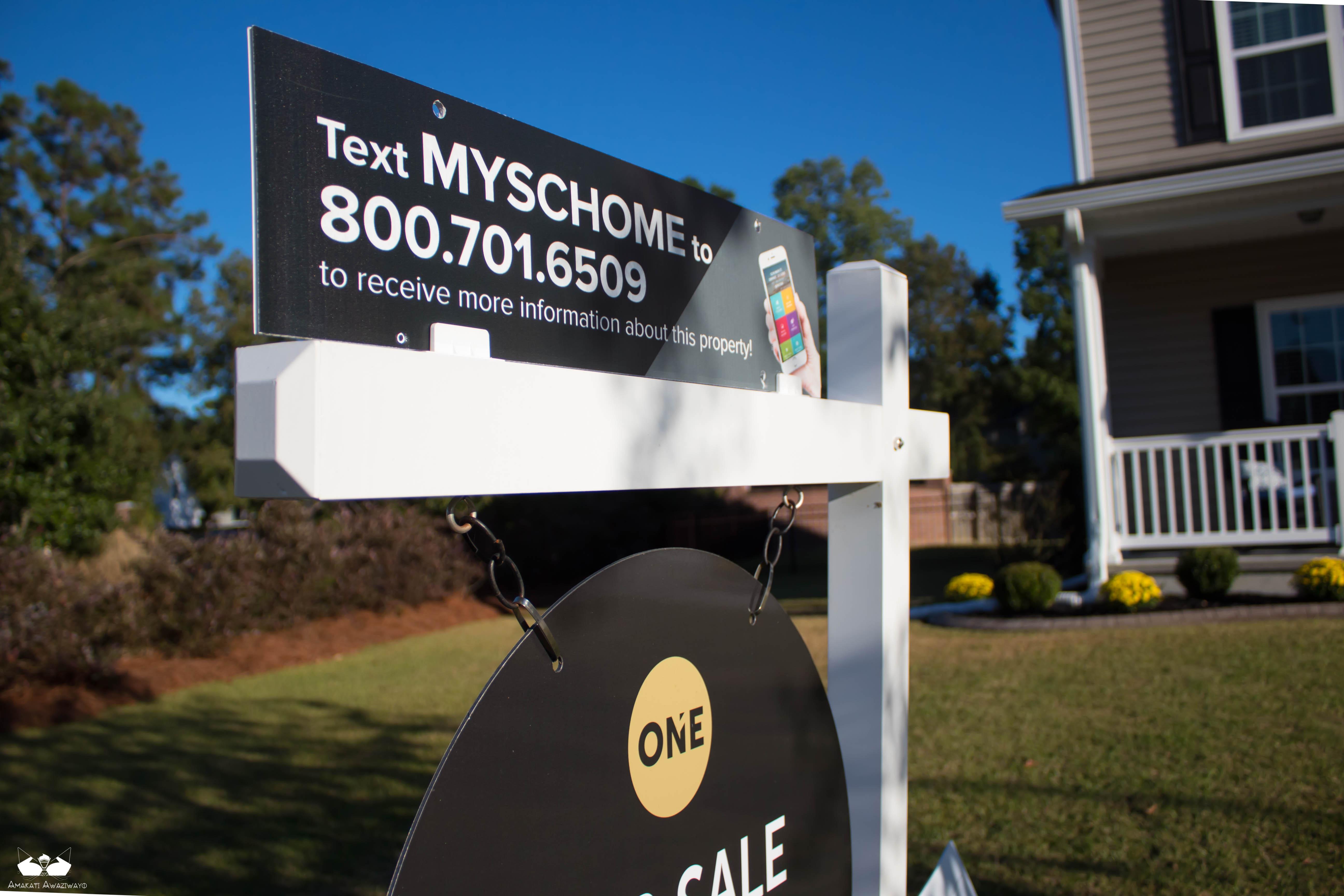 Top Rider Dibond Real Estate Sign