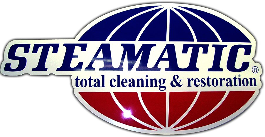 Steamatic Total Cleaning company - PVC sign